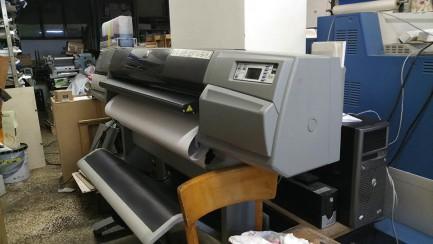Plotter HP 5500 inkjet UV HP