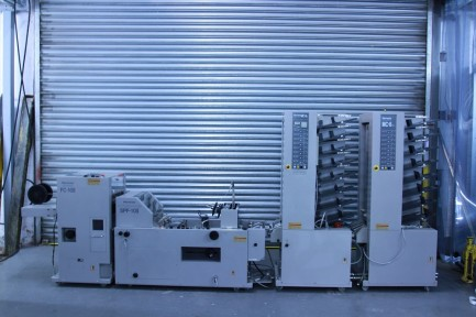 Horizon MC8 Twin Tower Collator + Bookletmaker SPF10 II + FC10 II Horizon