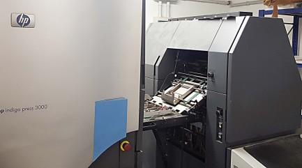 Stampante digitale HP Indigo press 3000 upgrade 3050 Hewlett Packard