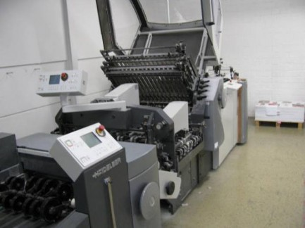 Folding machine Heidelbrg Stahl KH 78/ 6 KTL - FH Heidelberg