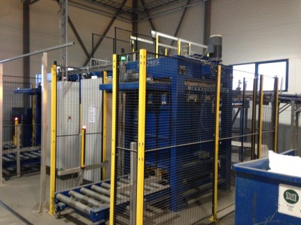 palletizer for magazines Holmek