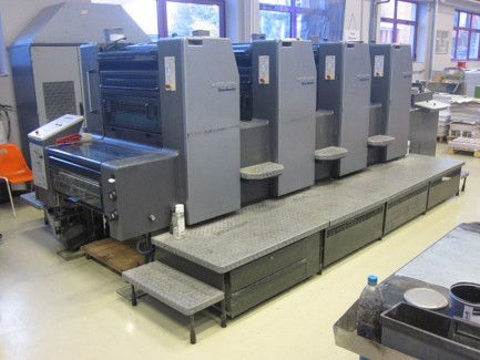 Speed Master 74-4 P Heidelberg