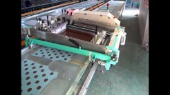 flat bed automatic screen printing machine CHINA NEW