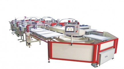 oval fully automatic screen printing machine CHINA NEW