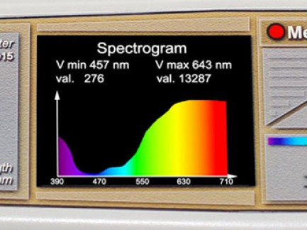 spectrodensitometr SRP1 Hm test